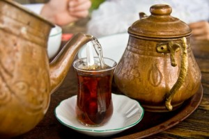 tee trinken