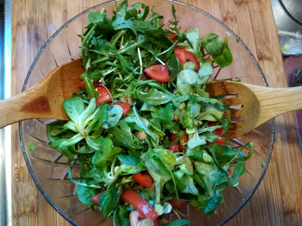 Ruccola Rapunzel Salat